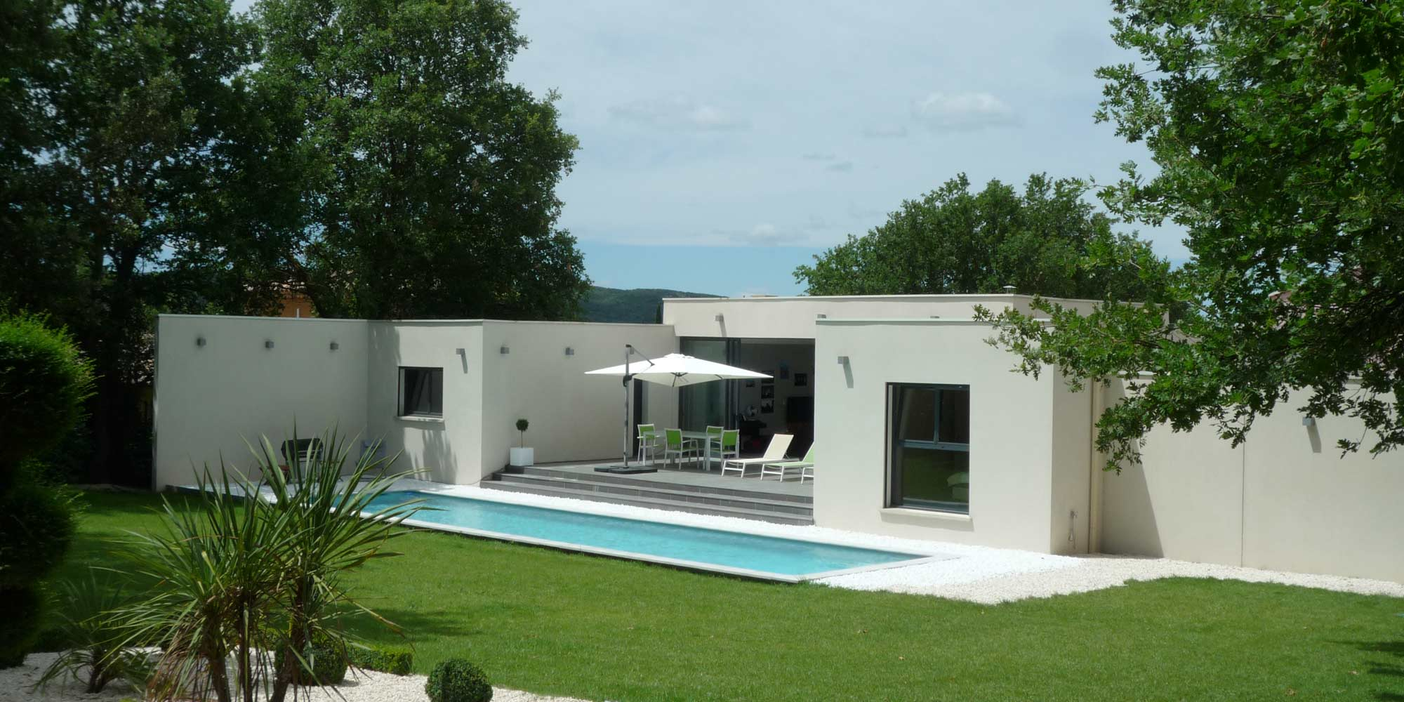 Villa au design résolument contemporain