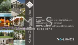 Home Collection Uzes - VOLUMES immobilier de caractère- Uzès