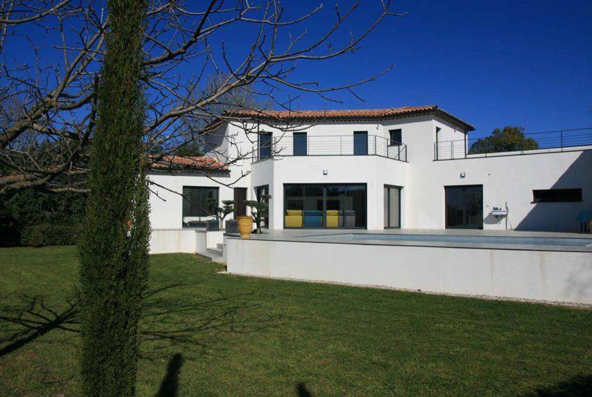 villa contemporaine uzes