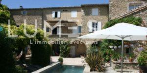 immobilier uzes volumes